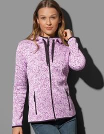 Knit Fleece Jacket Women