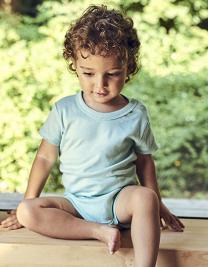 Babies Short Sleeve Bodystocking